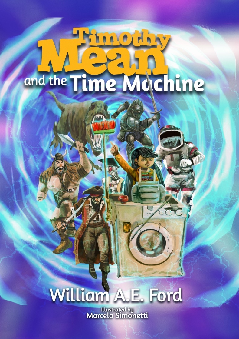 Timothy Mean and the Time Machine – Children's book.